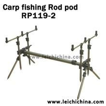 Stock available aluminum fishing carp rod pod