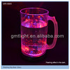manufacture and design hot selling clear glow plastic beer cup
