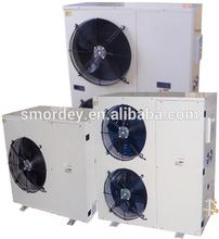 2-7HP cold room medium temperature application condensing unit