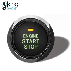 Passive keyless entry PKE remote car start and stop button