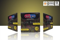 OEM natural rubber latex condom , starwberry flavour condom, dotted &flavour condoms