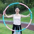 ejercicio de masaje magnético del aro del hula hula hoop desmontable
