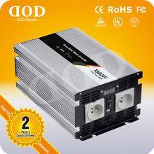 2kw 12v dc to 220v single phase solar power inverter CE.ROHS,FCC approval 12v inverter walmart