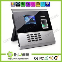 High Security TCP/IP Punch Time Card Machine With Fingerprint Recognition