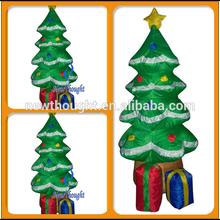Lighting inflatable christmas tree