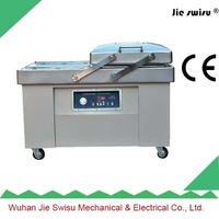 double chamber vacuum packing machine for beef luncheon meat