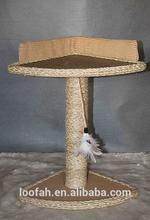 Multi-level leopard skin cat tree cat products