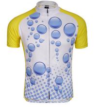 active wear cycling short sleeve digital printed