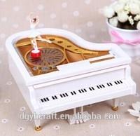 piano shape music box