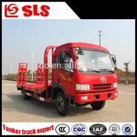 FAW 2 Axles platform truck, flat truck, flatbed tow truck