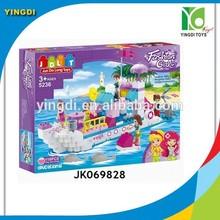2014 hot diy education toys children plastic building blocks for kids