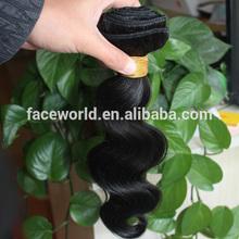 Factory big stock wholesale loose wave brazilian hair weave
