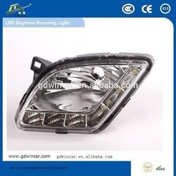 Wholesale Best Saller Auto led Electrical System led Daylight for Hyundai Verna Fog Light LED Daytime Running Light(2010-2013)