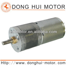 12v 25mm dc gear motor for packing machine DGA25-370 Made in China