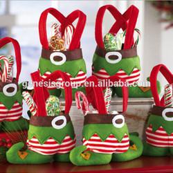 santa pants an elf pants chrtismas decor wine bags