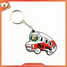 Hot Selling london bus keychain with logo