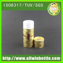 China supplier round tube cardboard base and lid cosmetic box