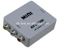 Hot sales Mini AV CVBS to HDMI Converter / s-video Vga RCA to HDMI Converter