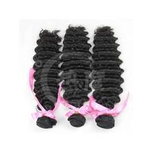 100% Human Hair Virgin Indian Deep Curly Human Hair