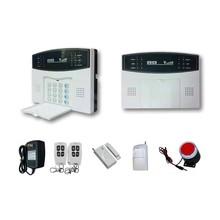433mhz Wireless, quad band gsm network, smart burglar gsm home security alarm system