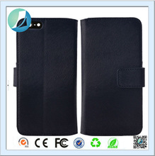 Wholesale leather wallet mobile phone oem back cover for apple iphone 5