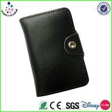 Black PU dermis leather car key case /customized desgin key case