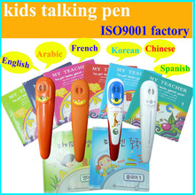 Languages Tool Stationery Toys Read Pen Talking English for Multilingual