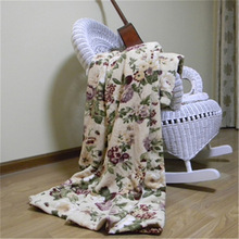 king size Guangzhou coral fleece knit fleece fabric for blanket supplier