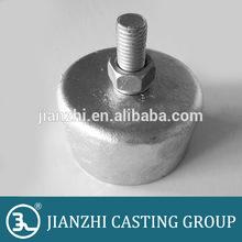 Station post insulators solid core type ductile cast iron caps