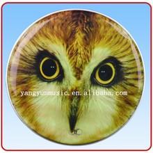 colored drum head Italy printed tambourine