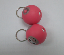 basketball projector logo ball keychain round ball keyring