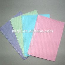 Bib paper + pe materials 100% new material dental bib