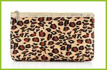 2014 high quality fashion black satin cosmetic bag makeup bag travel cosmetic bag