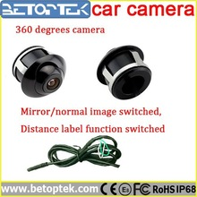 360 Degree Waterproof Night Vision Mini Car Camera