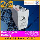 solar panel battery,2v 800ah emergency battery ups battery bank