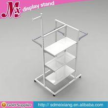 Metal lip balm display stand, MX9886 men clothes display shelf display furniture