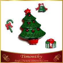 Hot christmas button ornament christmas tree decoration