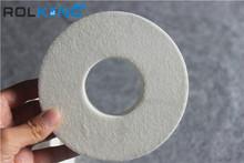 diamond edge abrasive sandpaper pasted on polishing machine