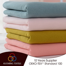 Contemporary unique cotton yarn dyed knit fabric velvet