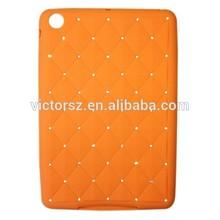 For Apple iPad Mini Luxury Bling Diamond Silicone Rubber Case Cover