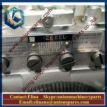 Genuino ZEXEL de la bomba de combustible ME440455 101608 - 6353 de la bomba de inyección de la bomba de aceite para SK330-6E excavadora Kobelco