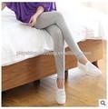 atacado 2014 outono mulheres doces cor modal algodão leggings show fina calcinha super elástico