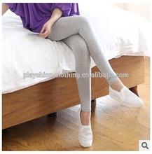 Atacado 2014 outono mulheres doce cor Modal leggings show de algodão calcinha finas super elastic