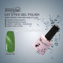 cat eye color uv led gel nail polish celebration makeup