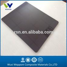 High strength light weight carbon fiber sheet 0.2MM 400*500mm