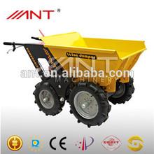 BY250 4*4 drive power wheel barrow mini garden tractors for sale