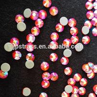 popular items in rhinestone garment hot-fix rhinestones ab color decoration for motifs patterns transfer