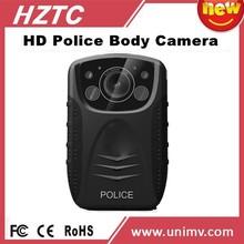 HZTC 1080P full HD body worn police camera recorder,voice recorder with remote,body worn camcorder records