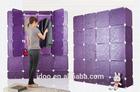 Diy cube storage cupboard cabinet wardrobe children storage wardrobe closet with doors FH-AL0956-20
