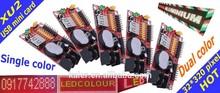 KALER P10 led display controller XU2 waterproof hot sell usb advertising sign single dual color indoor outdoor